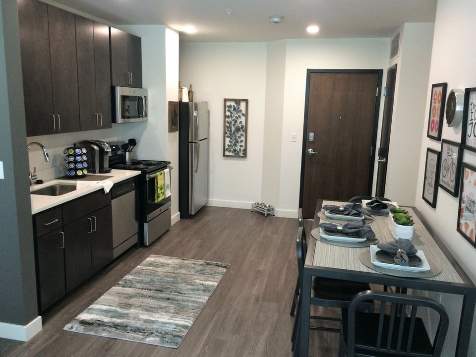 Millwork provided for Walnut Street Luxury Student Apartments